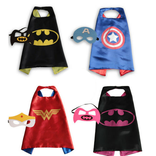 Children's Super Hero Cape Set