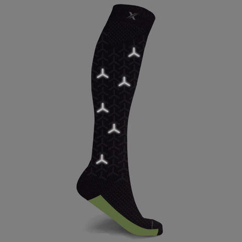 Reflective + Run Windmill Compression Socks (1 Pair)