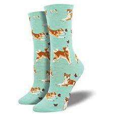 Sock Smith Novelty Socks Shiba Inu Socks | Dog Socks for Women