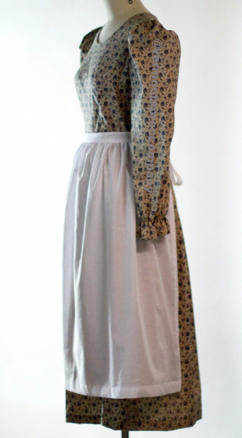 Batiste Half Apron, side view