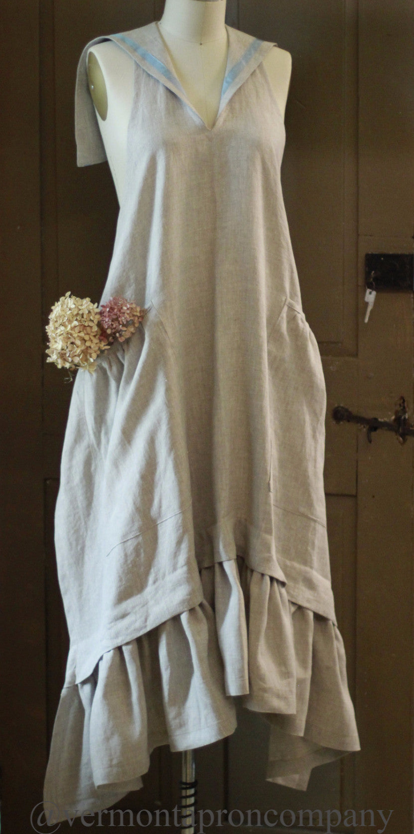 Linen Sailor Apron