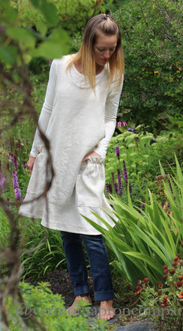 S-5X Jumper in Oatmeal 100% Flax Linen