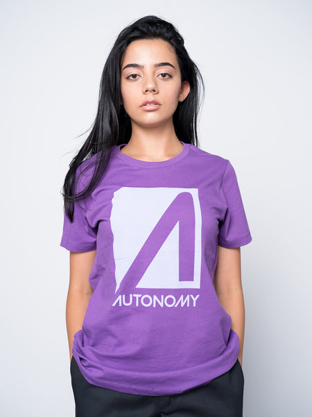 Autonomy No Comply T-shirt - Purple