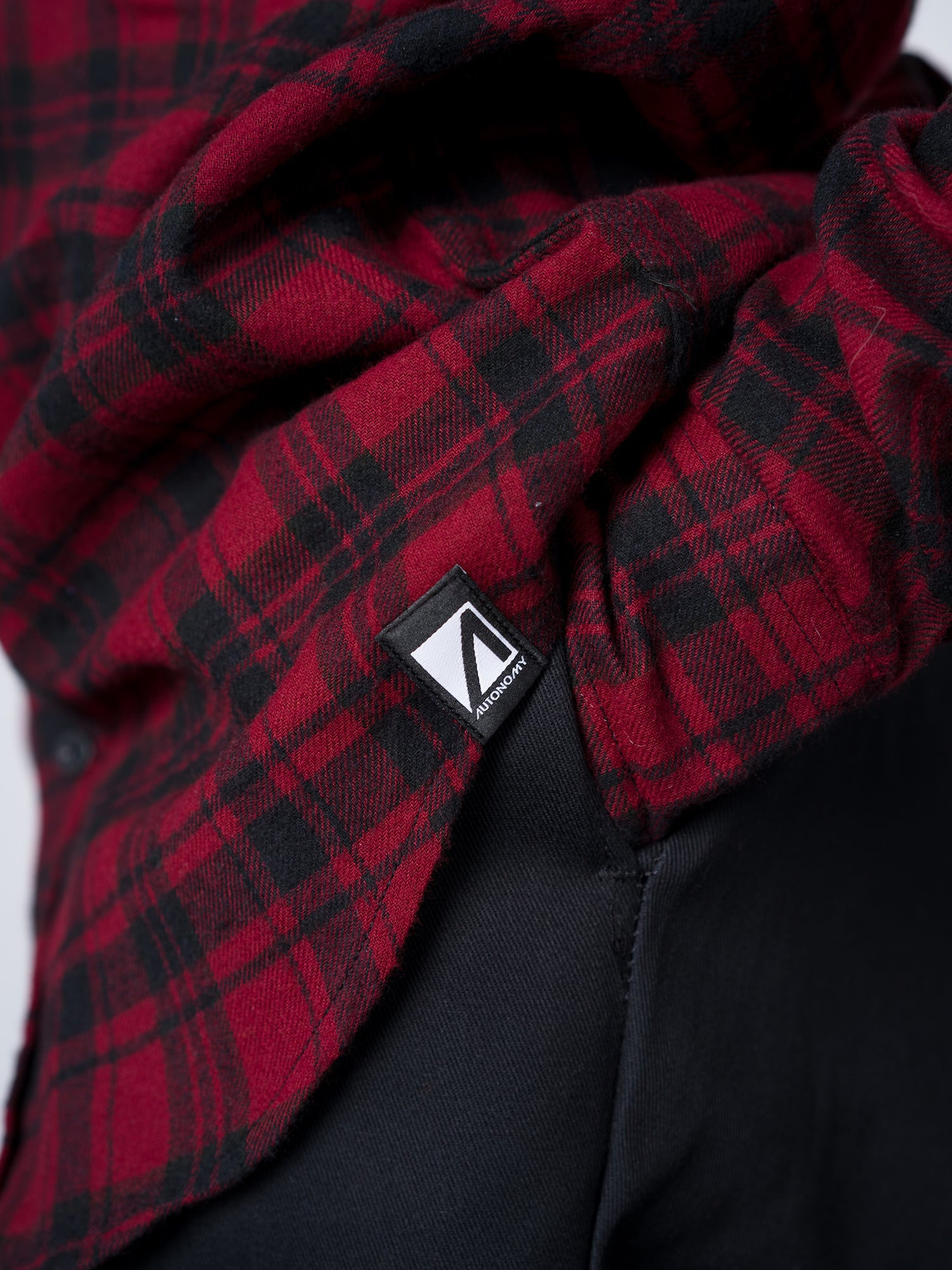 Autonomy Wallenberg Flannel - Red/Black