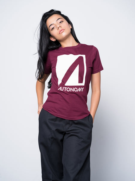 Autonomy No Comply T-shirt - Scarlet