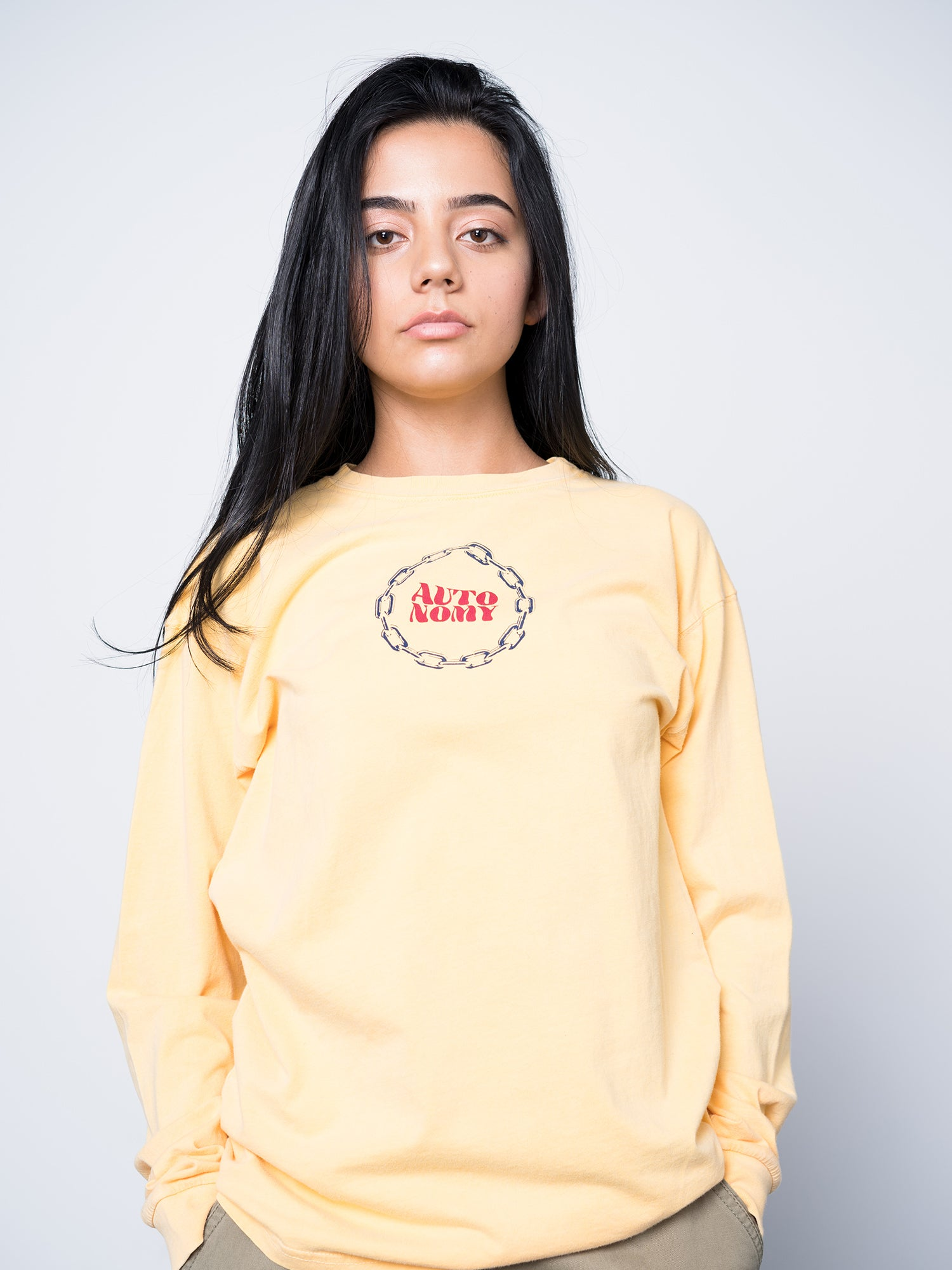 Autonomy Triage Long Sleeve Crew - Soft Yellow