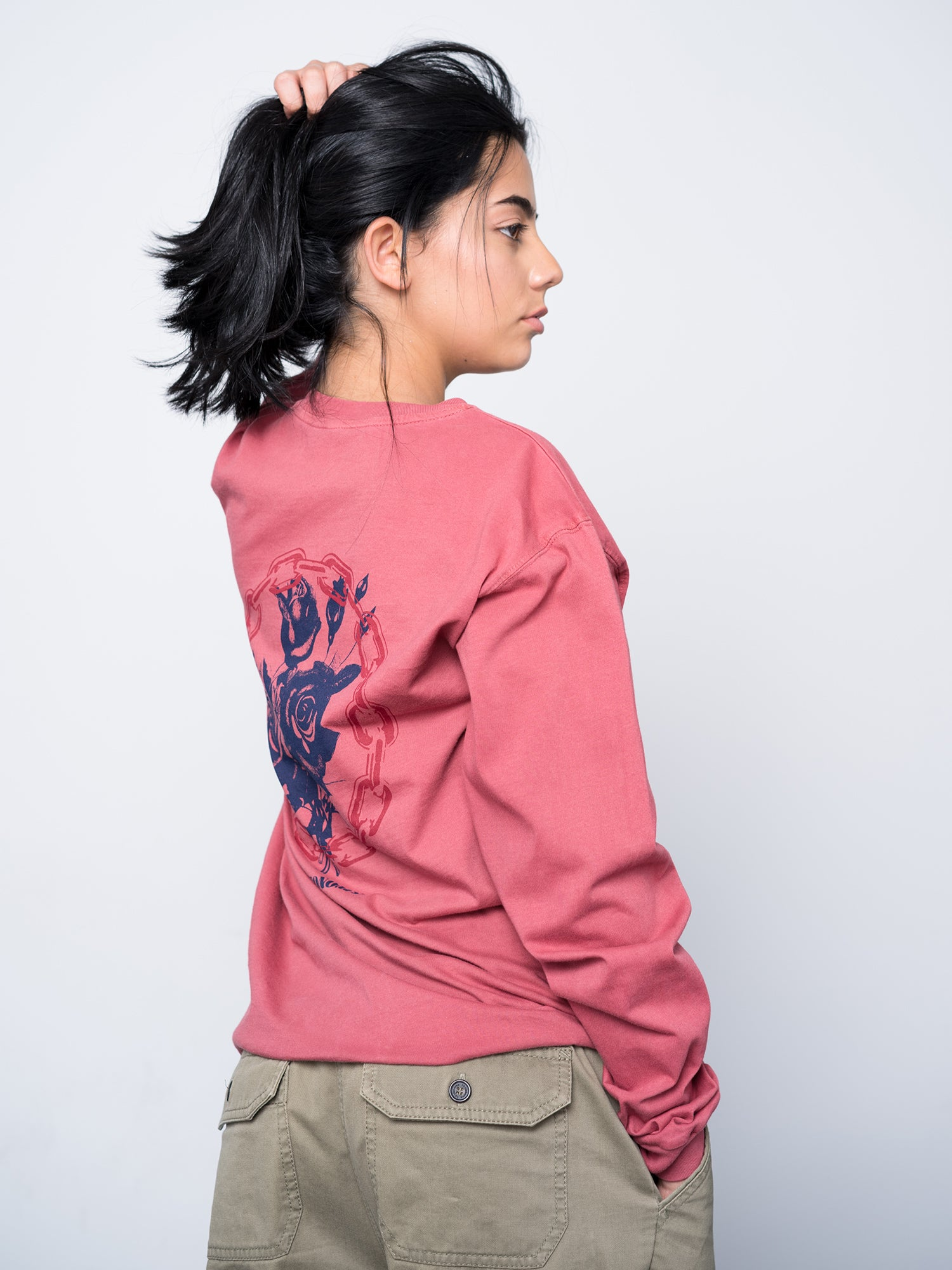 Autonomy Triage Long Sleeve Crew - Paprika