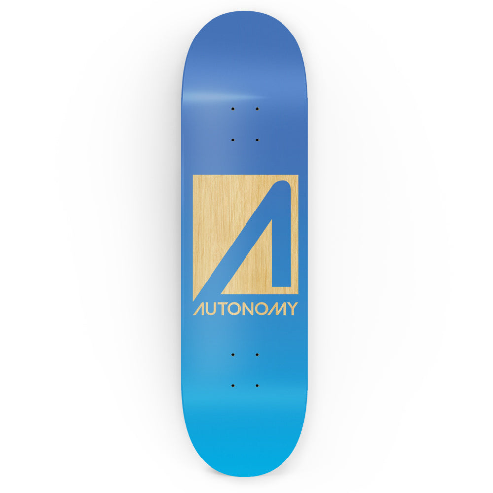 Autonomy Skateboards No Comply Deck - Blue