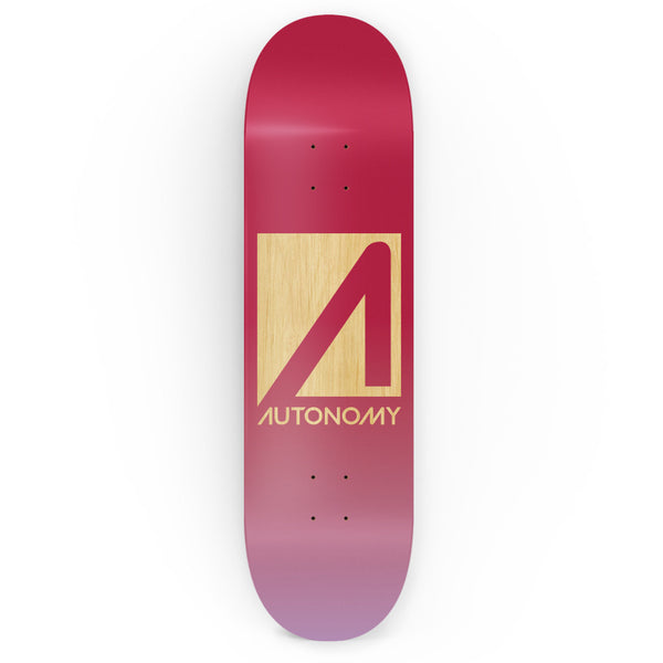 Autonomy Skateboards No Comply Deck - Red