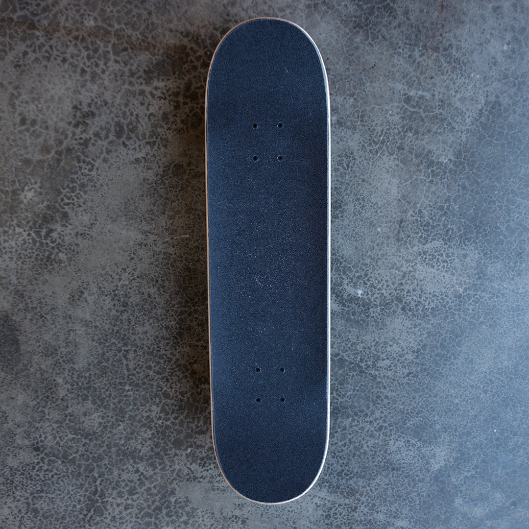 Top view of Complete Doplar Green Deck by autonomy skateboards