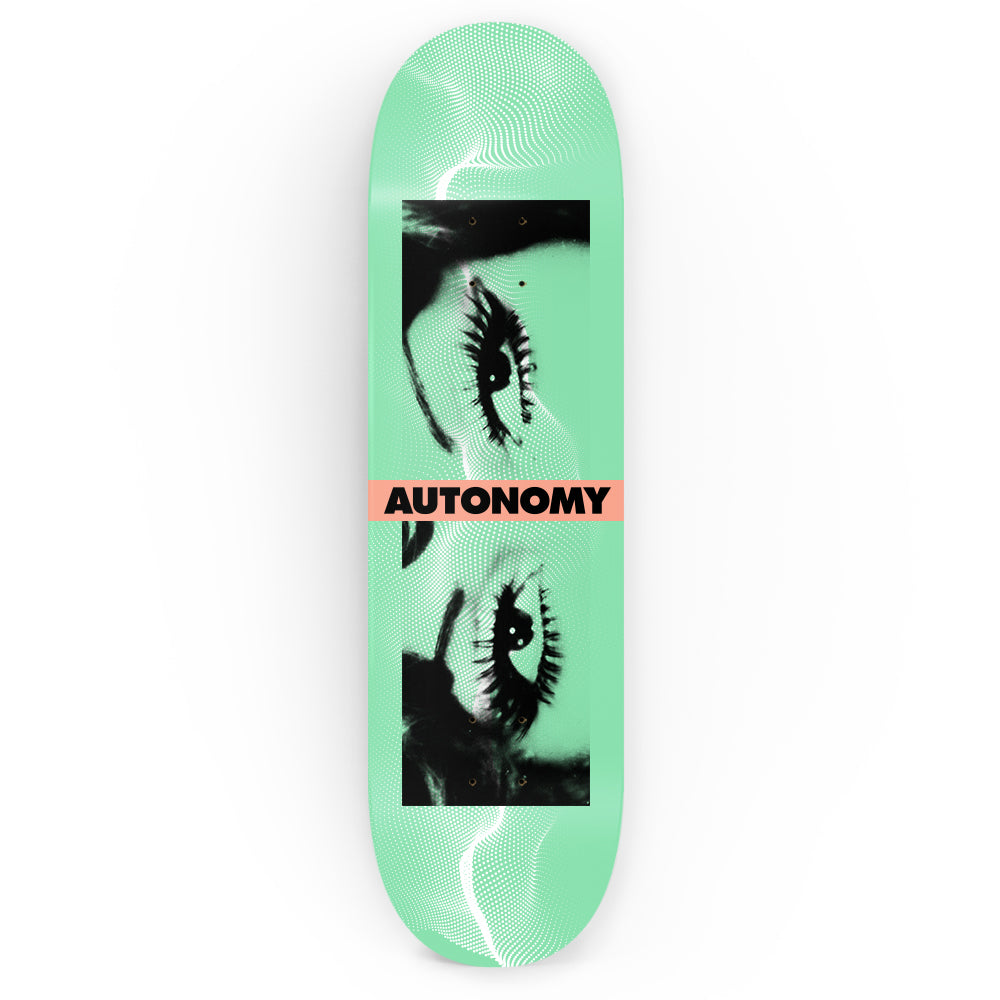 Complete Doplar Green Deck by autonomy skateboards