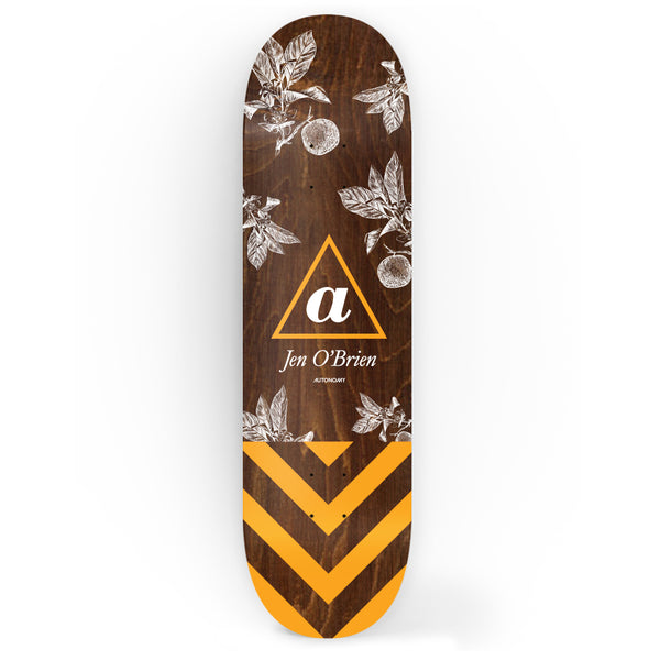 Autonomy Skateboards Deck - Jen O'Brien lll Serif