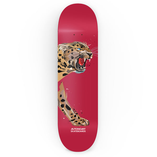 Autonomy Skateboards Endangered Series Deck - Jaguar