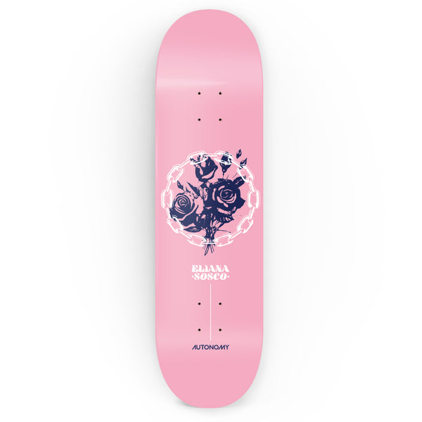 Autonomy Skateboards Eliana Sosco Pro Model ll Deck - Pink