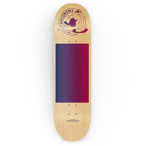 Autonomy Skateboard Decks for girls:  Olivia - Natural