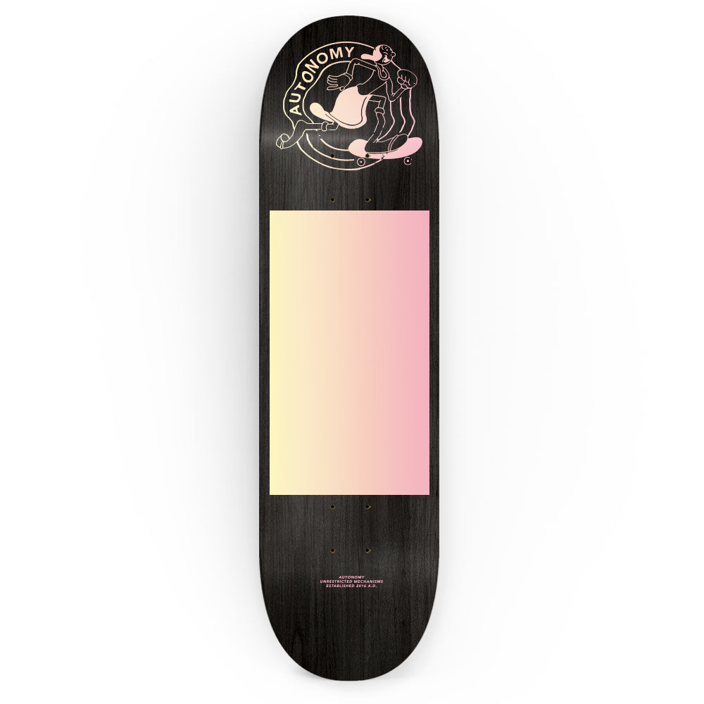 Autonomy Skateboards Deck - Olivia - Black