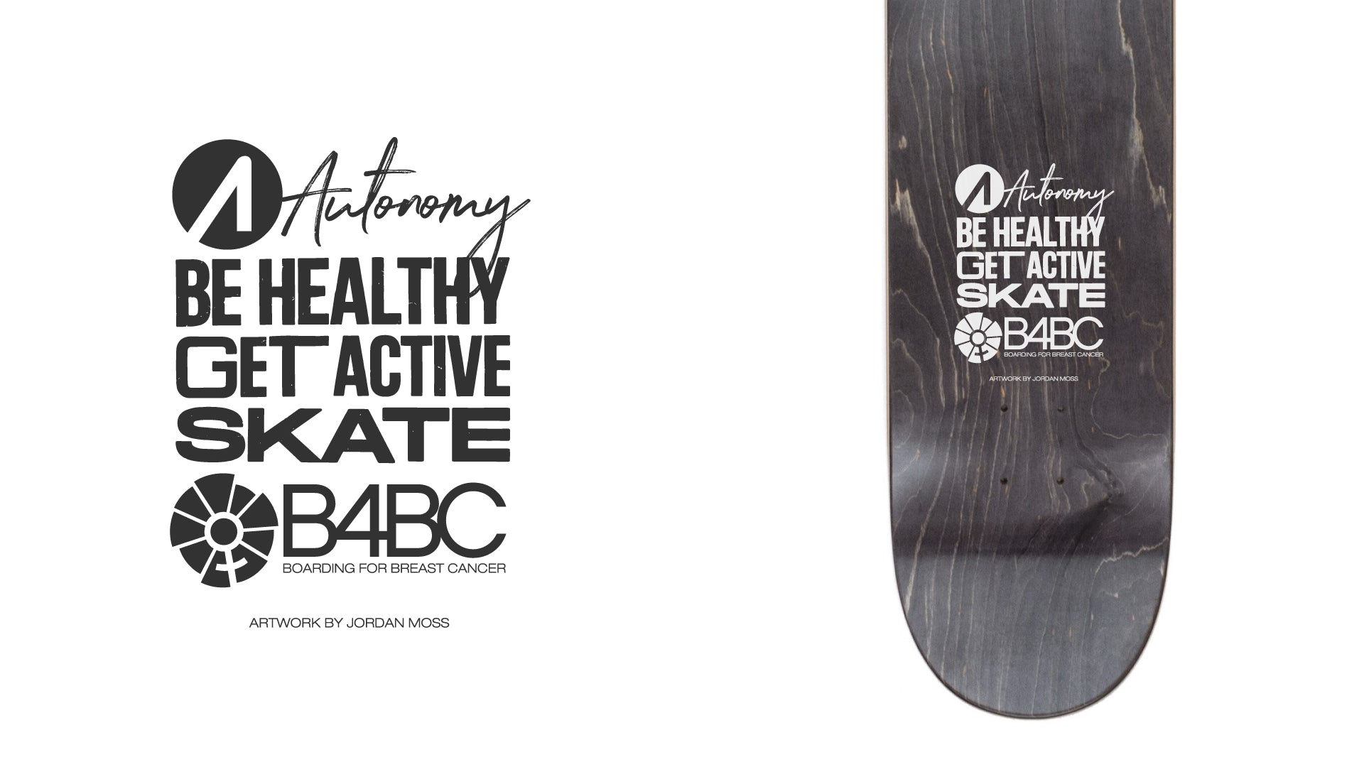 """Be Healthy Get Active"" Ad for Autonomy Skateboards"
