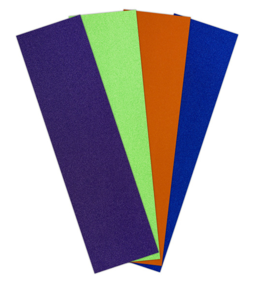 Grip Tape by Jessup USA in Purple, green, orange, and blue