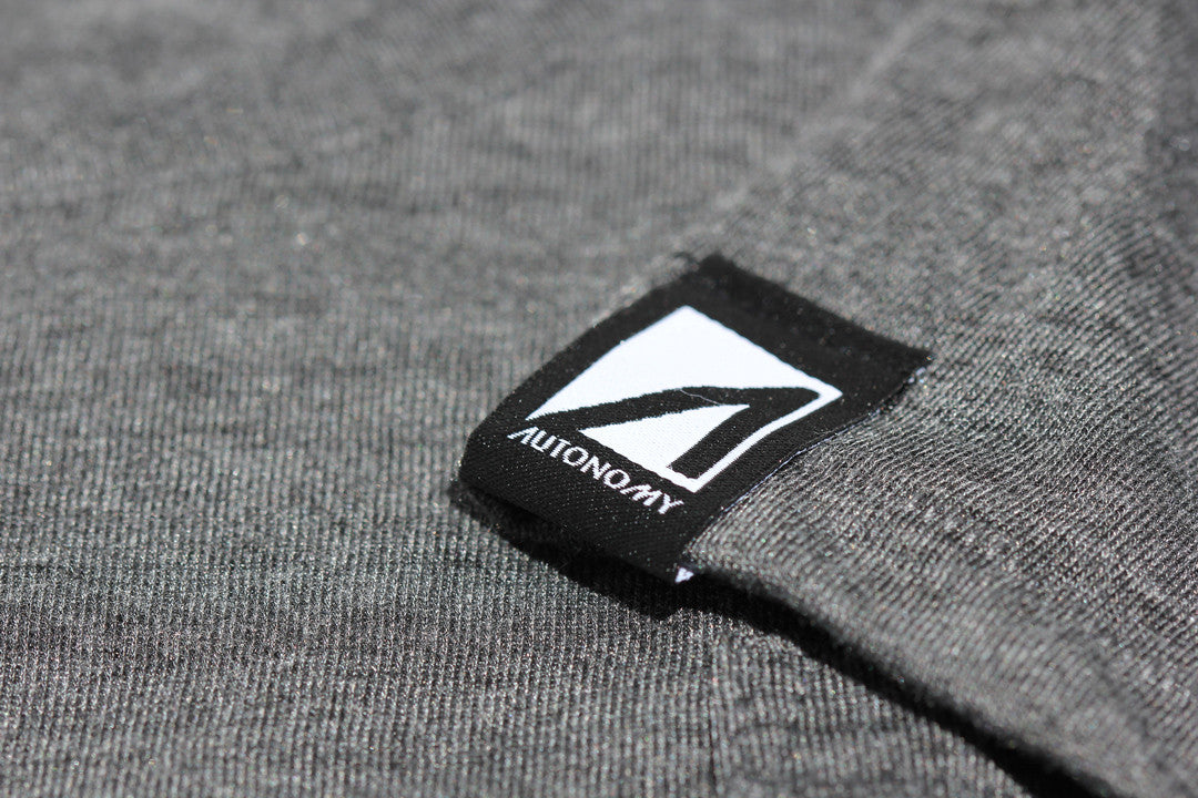 Autonomy Arco Flowy Pocket Tee - Grey