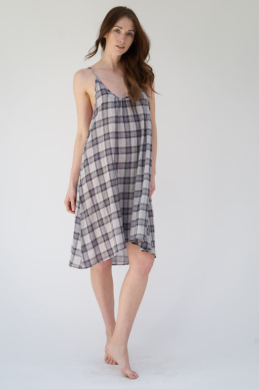 Pacific Plaid Slip
