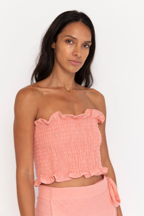 Waves Tube Top