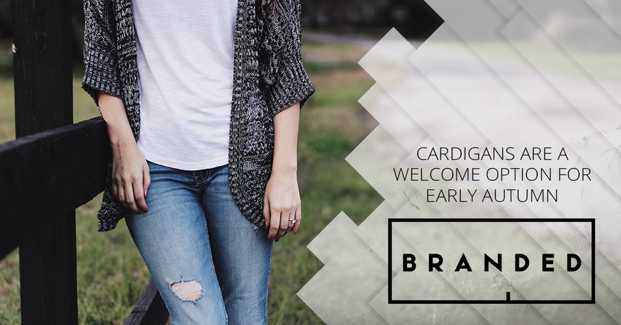Cardigans Are A Welcome Option For Early Autumn