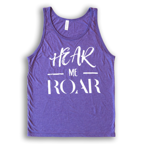 """Hear me ROAR"" Tank Top"