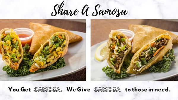 Share A Samosa | You Get Samosa. We Give Samosa to those in need.