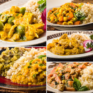 Global Village Cuisine | Global 8-Meal Sampler