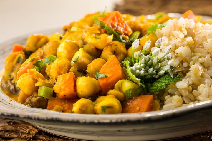Global Village Cuisine | Chickpea Vegetable Tajine Dinner