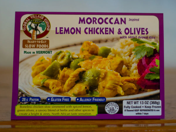 Moroccan Lemon Chicken & Olives (Local Delivery)