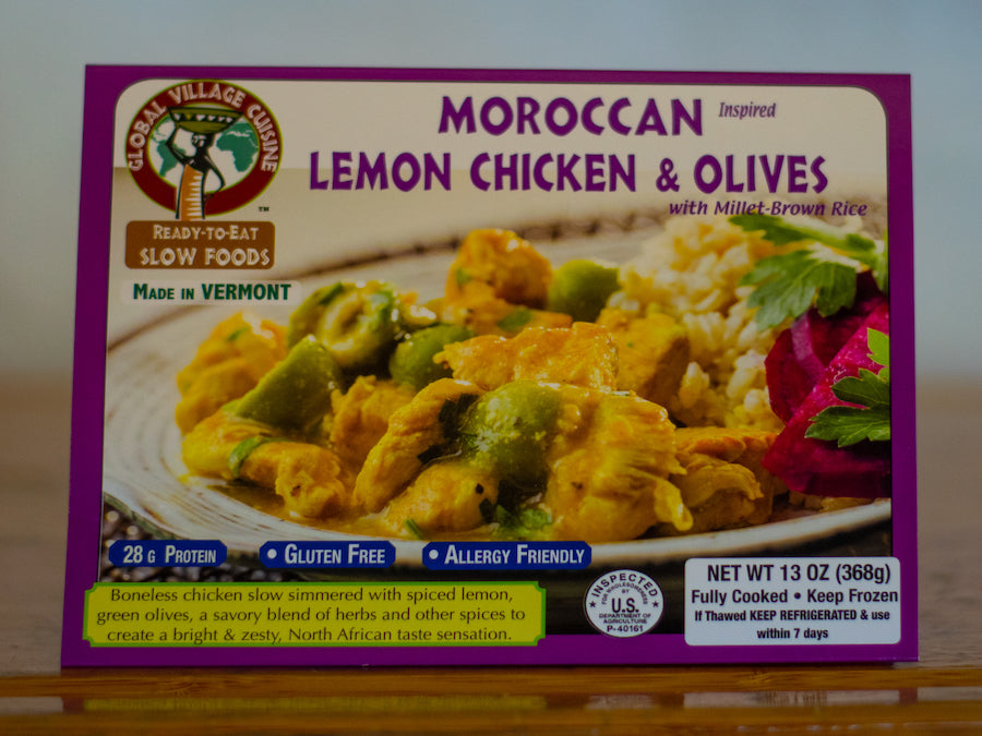 Moroccan Lemon Chicken & Olives