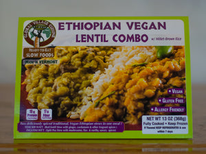 Ethiopian Lentil Combo (Local Delivery)
