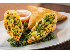 Global Village Cuisine | Curry Vegetable Samosa