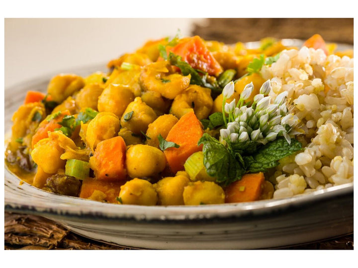 Global Village Cuisine | Chickpea Vegetable Tajine