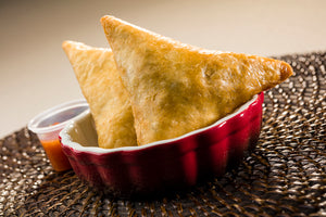 Herb Spiced Ground Beef Samosa