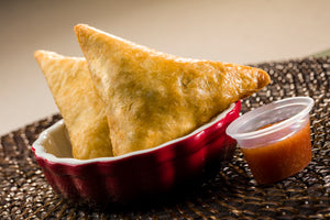 Global Village Cuisine | Mediterranean Chicken & Spinach Samosa (6 piece)