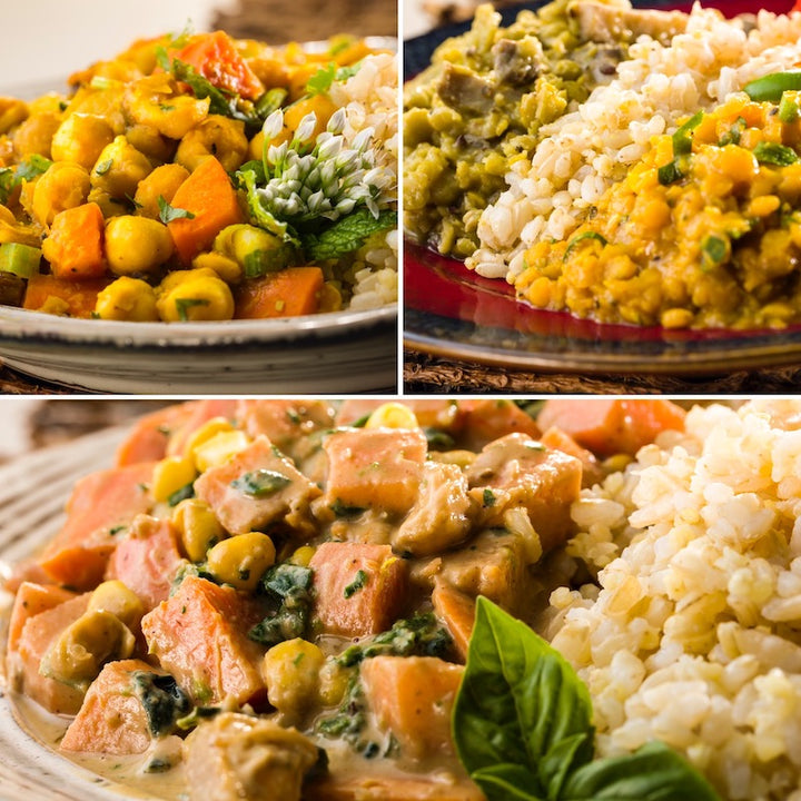 Global Village Cuisine | Vegan 7-Meal Sampler