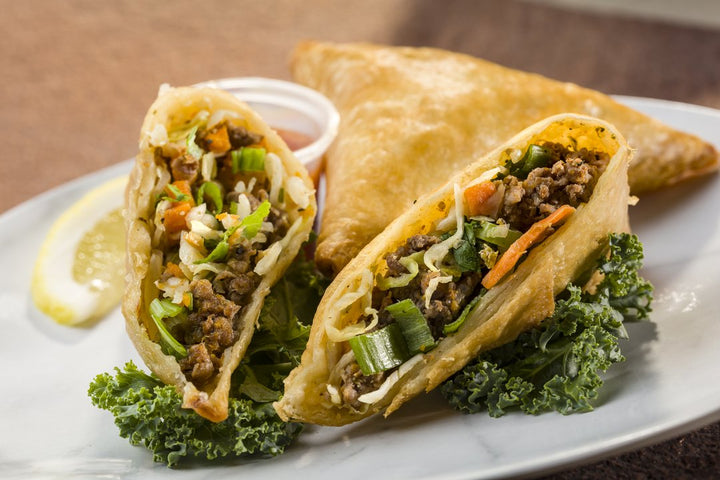 Global Village Cuisine | Ground Beef Samosa (6 piece)