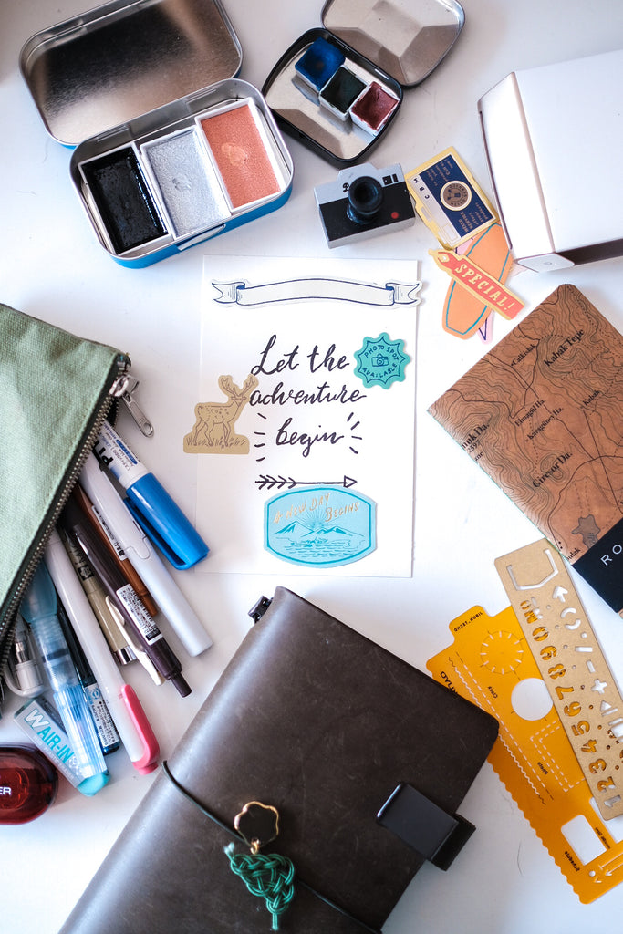 A Journaling Pack List For Busy Travellers! | Blog Post by Connie