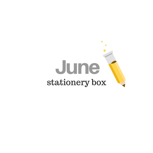 June 2019 Stationery Box *Not Subscription*