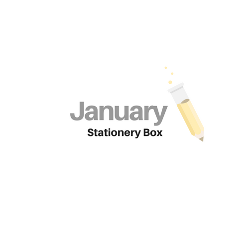 January 2019 Stationery Box *Not Subscription*