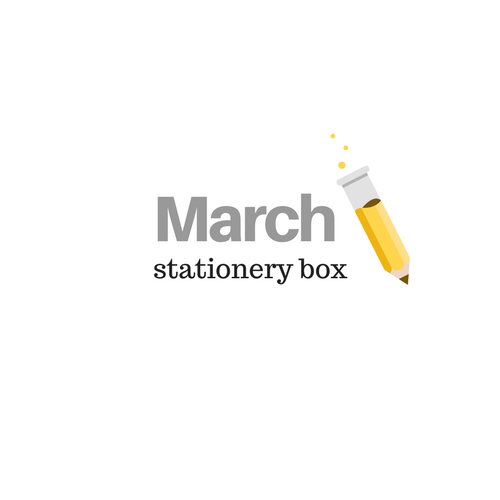 March 2019 Stationery Box *Not Subscription*