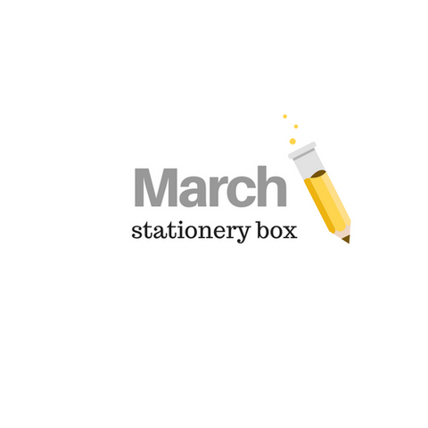 March 2021 Stationery Box *Not Subscription*