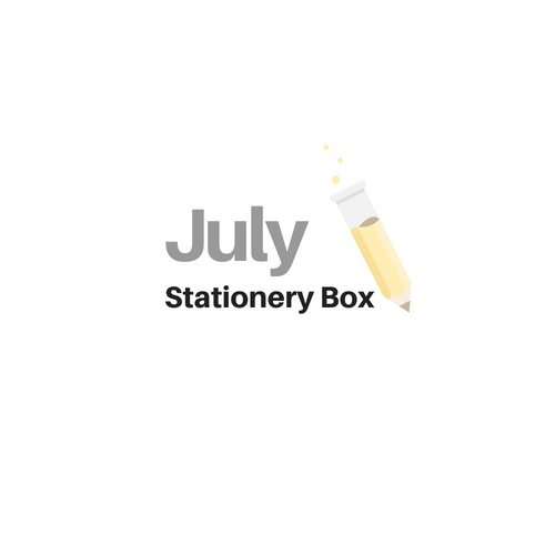 July 2018 Stationery Box *Not Subscription*