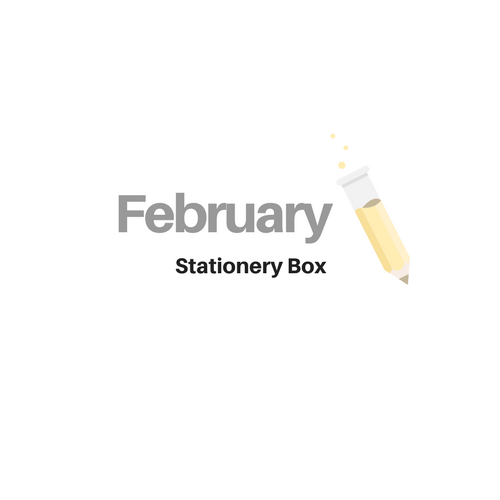 February Stationery Box *Not subscription*