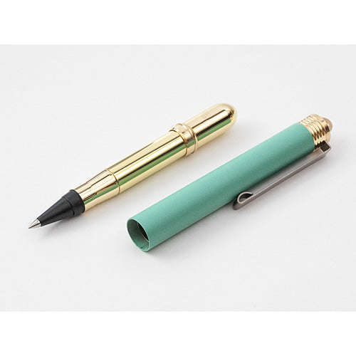 Limited Edition Traveler's Company Factory Green Brass Product