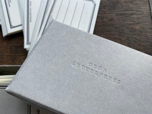 OEDA Letterpress Sticker Box