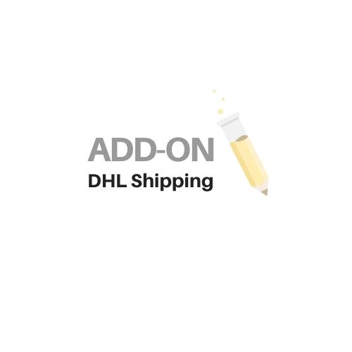 ADD-ON DHL Shipping (only for Stationery Boxes- read below)