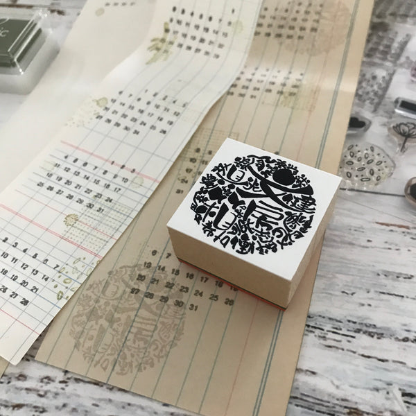 The Stationery Selection Original Rubber Stamp 001